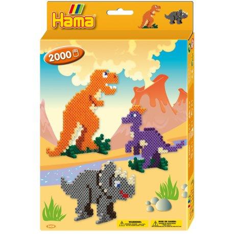 Hama 3434 - koraliki midi, Dinozaury