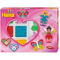 Hama 3718 - Wróżki, Activity Box Midi