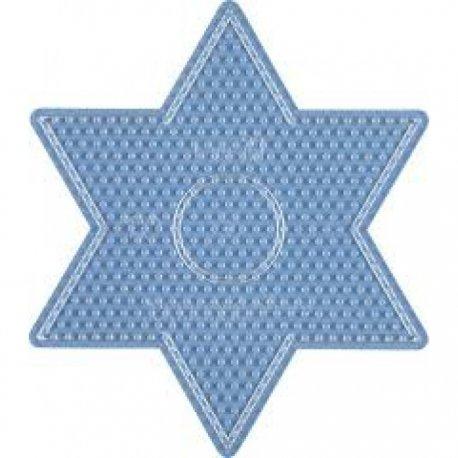 Hama 269 - przeźroczysta podkładka duża gwiazda - koraliki midi