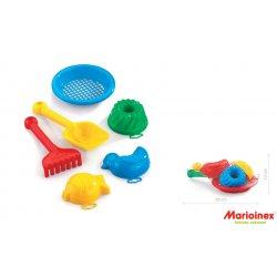 Komplet do piasku 6 el - Marioinex 900 314