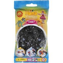 Hama 207-18 - Kolor CZARNE - 1000 koralików