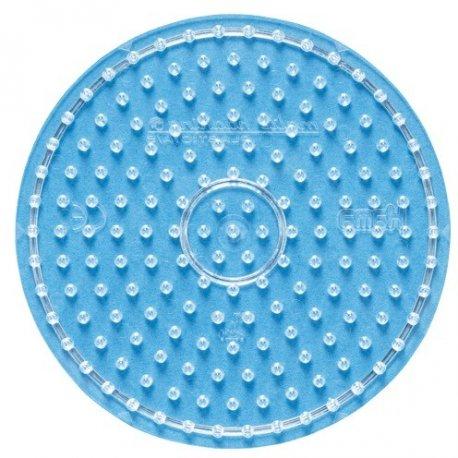 Hama 8220 - przeźroczysta podkładka okrągła - koraliki midi
