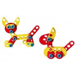Klocki Michi - Wkręcanie Rozkręcanie - Lusus Toys 48el
