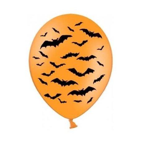 Balon Halloween - Nawiedzony Dom - balon lateksowy