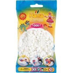 Hama 207-01 - Kolor BIAŁY - 1000 koralików
