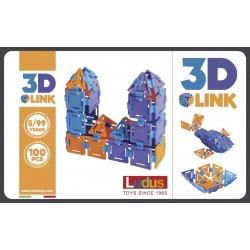 Klocki Ludus 3D Link 100 elementów