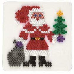 Hama 284 - Święty Mikołaj- podkładka do koralików midi