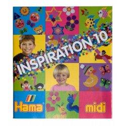 Hama midi - INSPIRACJE 10 - książeczka z pomysłami