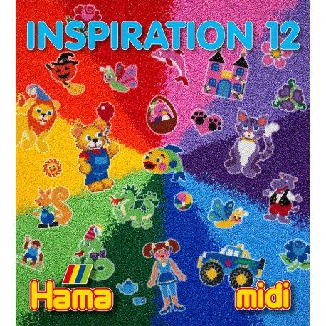 Hama midi - INSPIRACJE 12 - książeczka z pomysłami