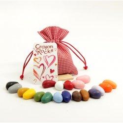 Kredki Crayon Rocks Valentine Bag - 20 Kredek w Woreczku