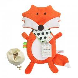Termofor Lisek - z pestkami wiśni - Hencz Toys