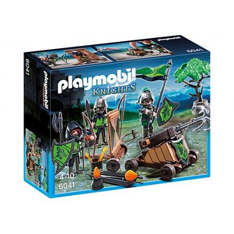 Playmobil 6041 - Oddział bojowy rycerzy herbu Wilka