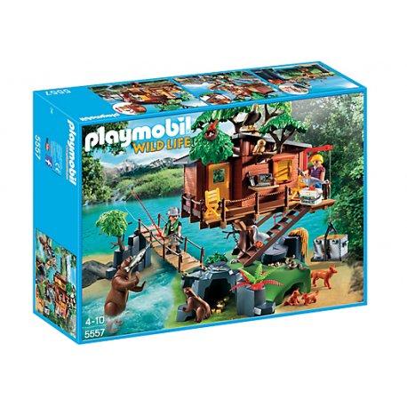 Playmobil 5557 - Przygoda z domkiem na drzewie