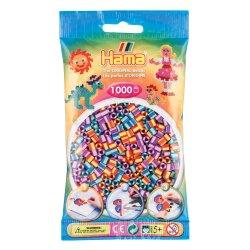 Hama 207-92 Dodatkowe koraliki midi - 1000 prążkowanych koralików