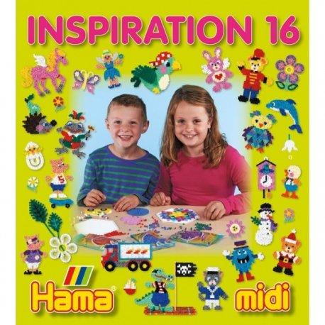 Hama midi - INSPIRACJE 16- Książeczka z Pomysłami