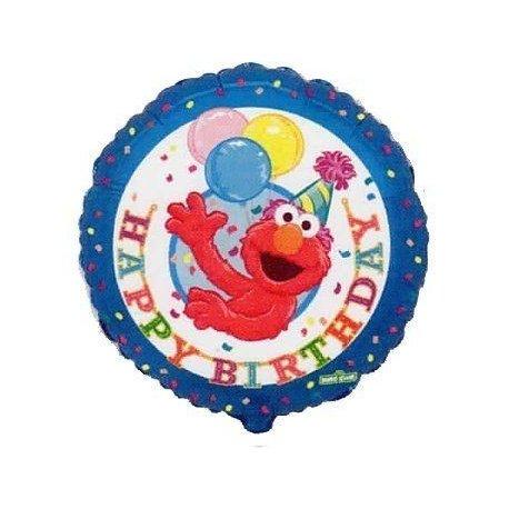 "Balon foliowy 18"" Elmo Happy Birthday"