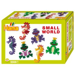 Hama 3501 - Small world - Żabki i Koniki morskie