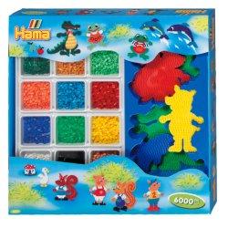 Hama 3062- Giant Gif Box - Zwierzęta