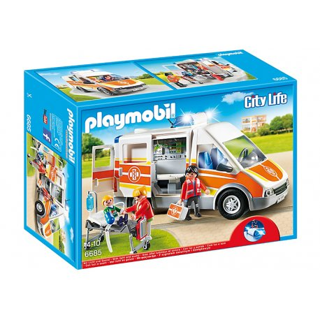 Playmobil 6685 - Karetka ze światłem i dźwiękiem