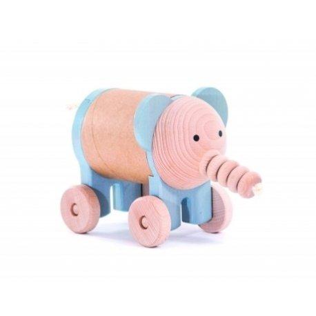 Bajo 37840 - Drewniany Ślimak Zabawka do Ciągnięcia