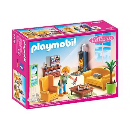Playmobil 5308 - Salon z kominkiem