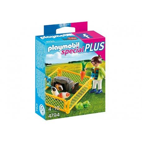 Playmobil 4794 Special Plus - Dziewczynka z świnkami morskimi