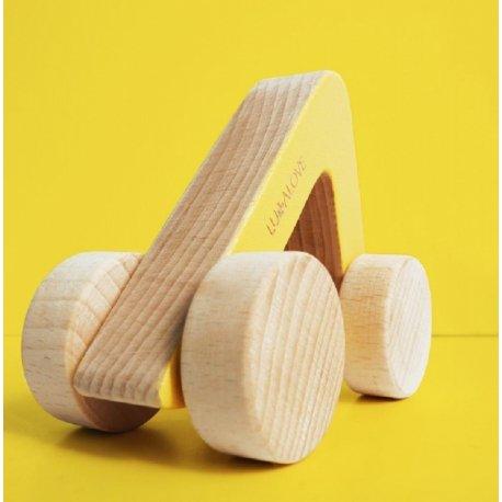 ODA car - drewniane autko trójkąt - Lullalove