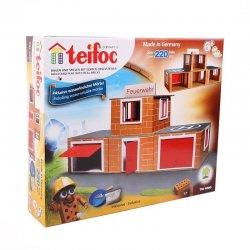 Klocki Teifoc 4800 - Straż Pożarna z Cegiełek