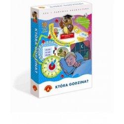 Która Godzina? - Gra i zabawka edukacyjna dla dzieci - Alexander