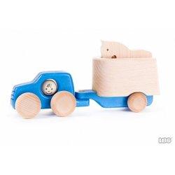 Samochód z przyczepą dla konia - Bajo 46450