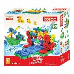 Klocki Korbo Hydro 90 elementów - ref. 1012