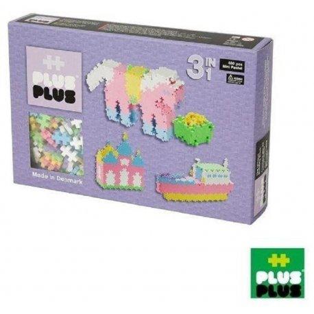 Klocki Plus Plus - Mini Pastel 3w1 480 szt.
