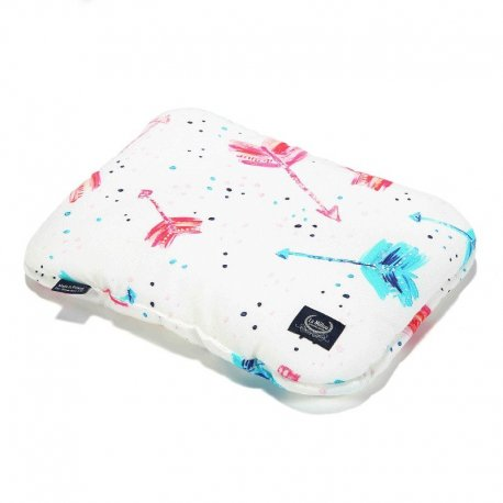 Baby Bamboo Pillow - Neon Arrows - La Millou