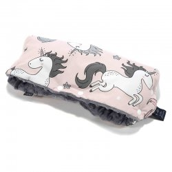 Mufka La Millou - unicorn sugar bebe, grey
