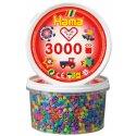 Hama 210-50 - Koraliki Midi 3000 mix kolorów pastelowych