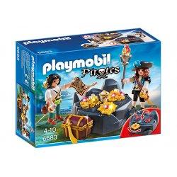Zestaw Playmobil 6683 - Piracka Kryjówka Skarbów