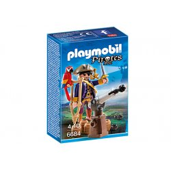 Playmobil 6684 - Kapitan piratów