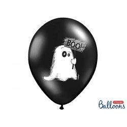 Balon Halloween - Duszek, pastel black