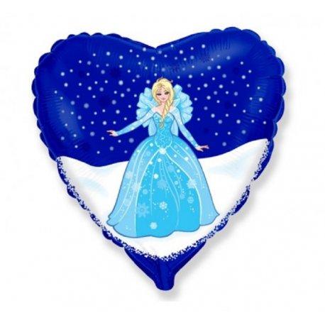 Balon z Helem - Kraina Lodu Elsa