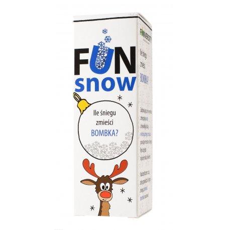 Eksperyment Fun Snow - Ile śniegu zmieści bombka?