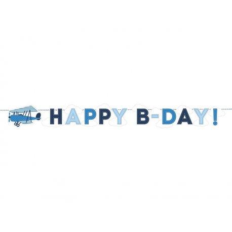 Baner urodzinowy - Samolocik