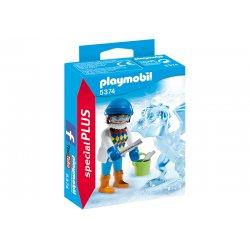Playmobil 5374 - Rzeźbiarka z Lodową Rzeźbą