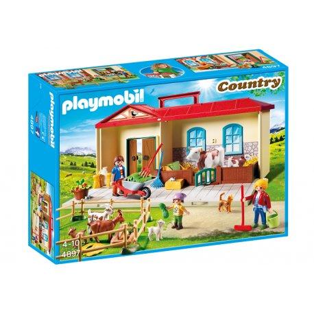 Playmobil 4897 - Przenośne gospodarstwo rolne