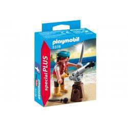 Playmobil 5378 - Pirat z armatą