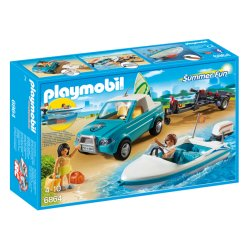 Playmobil 6864 - Surfer - Pickup z motorówką