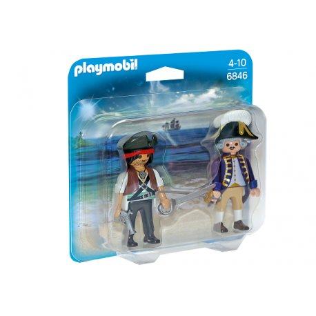 Playmobil 6846 - Duo Pack Pirat i żołnierz