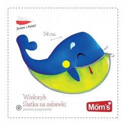 Hencz 960 Wieloryb - Siatka na Zabawki do Kąpieli
