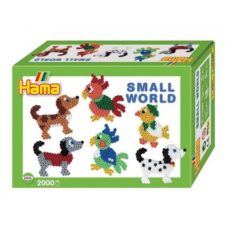 Hama 3506 - Small world - Pieski i papugi