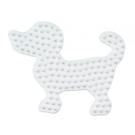 Hama 326 - podkładka mały pies - koraliki midi