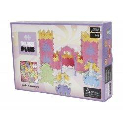 Klocki Plus Plus - Zamek księżniczki 760 szt - Mini pastel